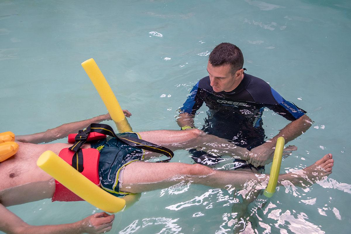 Idrokinesiterapia riabilitazione in acqua
